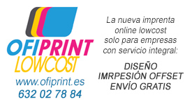 Imprenta online lowcost para empresas