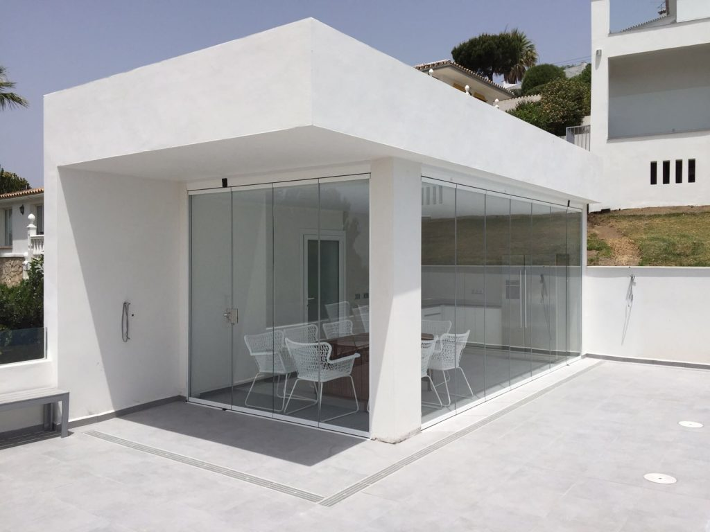 cerramiento para terrazas en Málaga