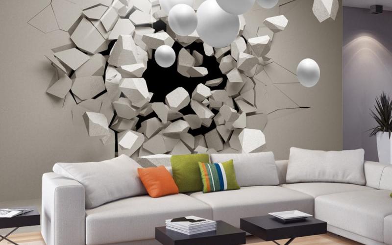 Fotomurales una opci n econ mica y sencilla de decoraci n - Decoracion economica de interiores ...
