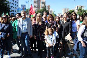 04032020 - Ignacio López en la huelga educativa del 4 de marzo