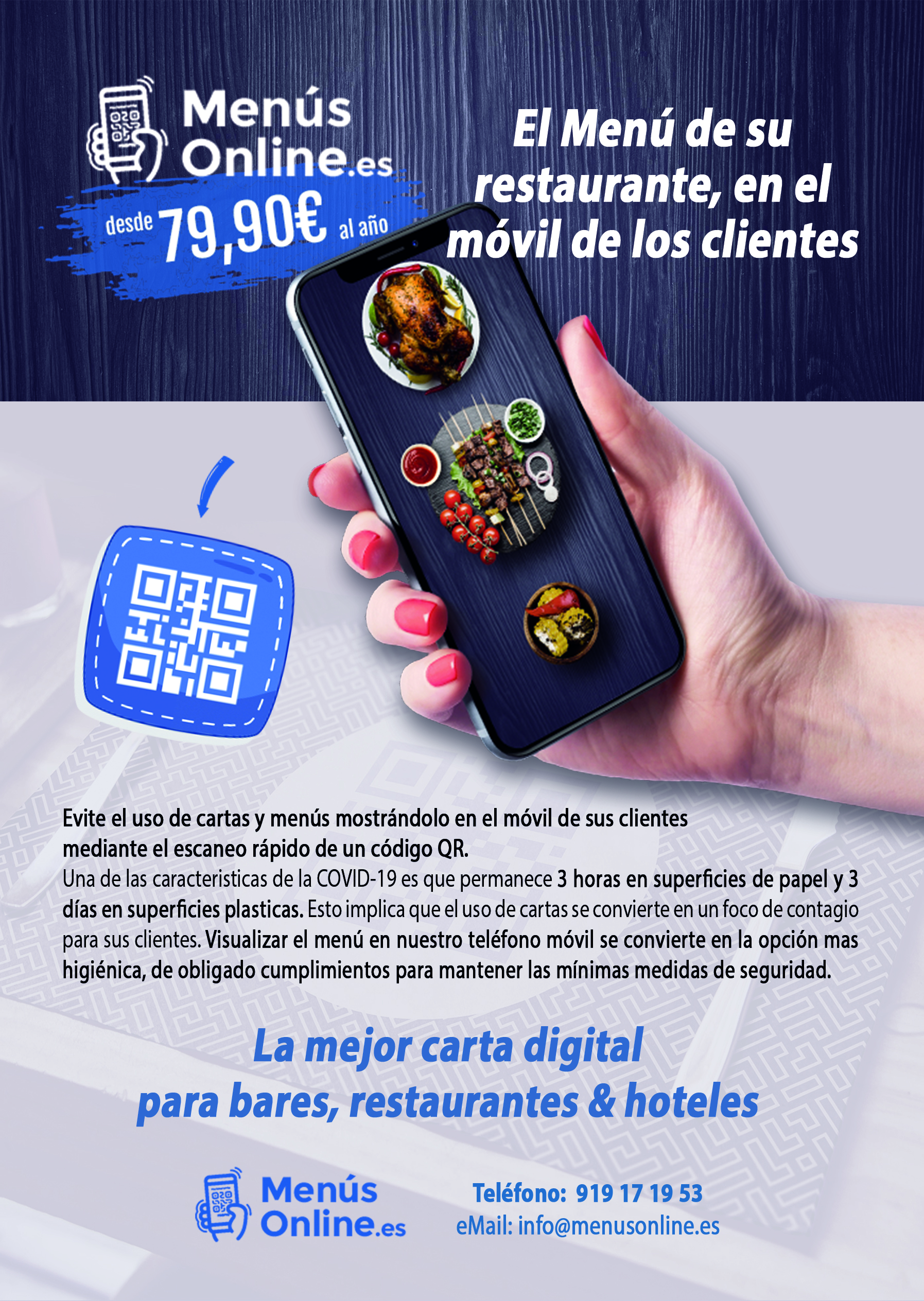 cartas digitales restaurantes
